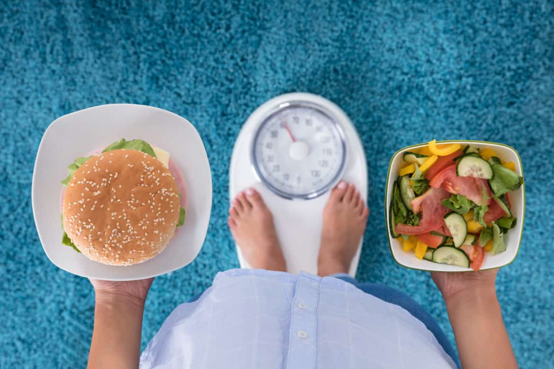 Diät für Taille und Bauch