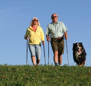 Nordic Walking gesund