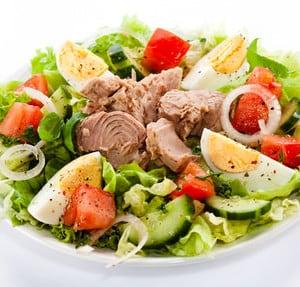 Salat für die Stoffwechsel-Diät