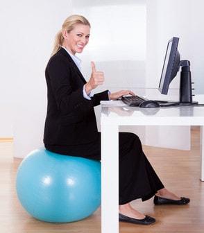 Fitness im Büro