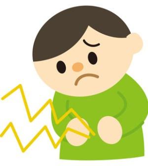Unterleibsschmerzen Kind