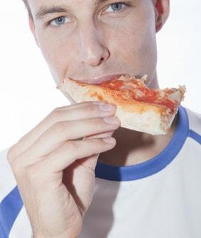Pizza gesund