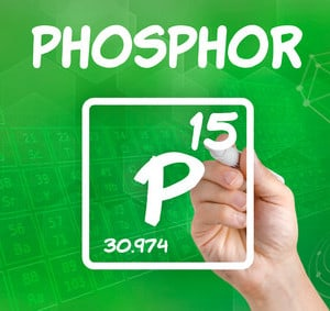 Phosphor Mengenelement
