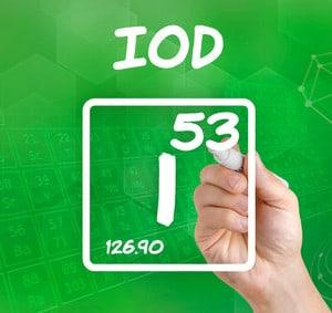 Spurenelement Iod