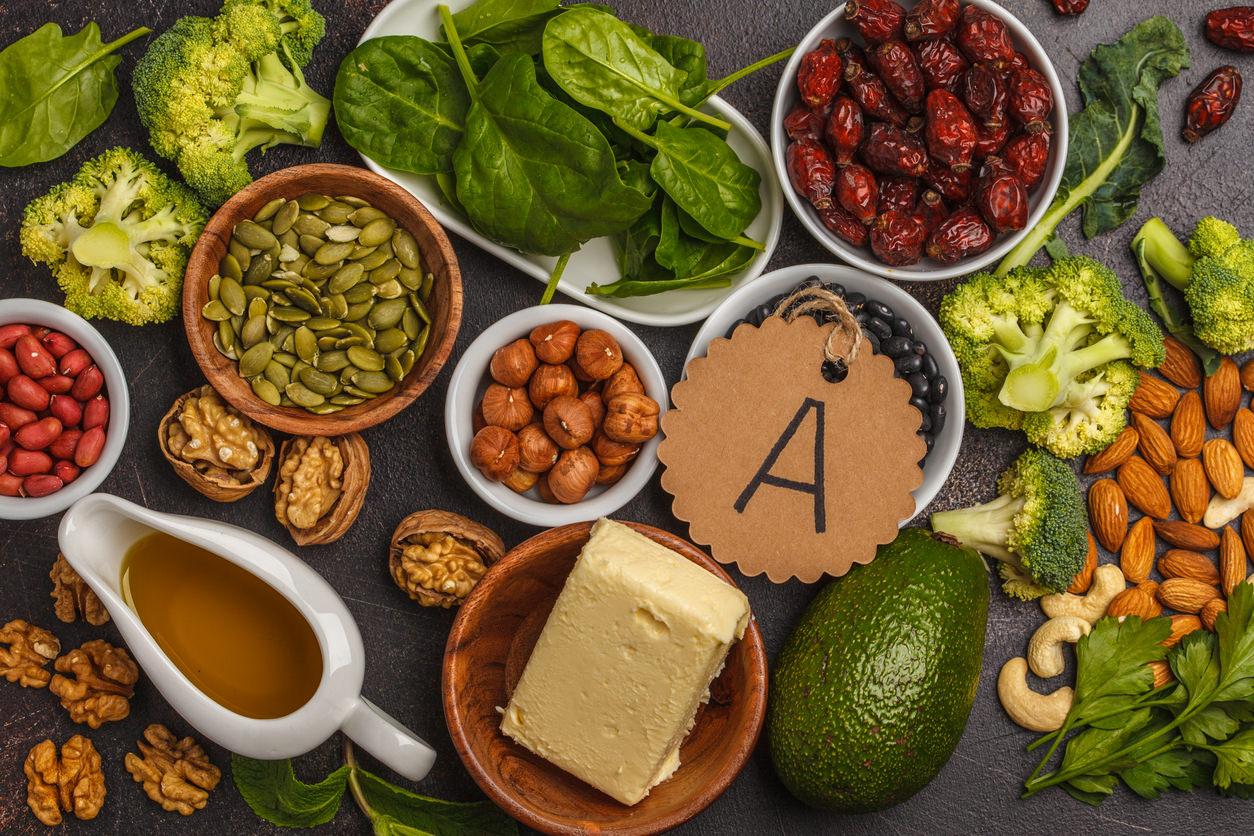 Lebensmittel mit viel Vitamin A - Bauch.de