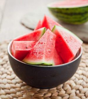 Wassermelone mit Schale